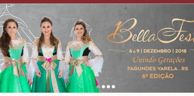 BellaFesta - De 6 a 9 de dezembro de 2018 em Fagundes Varela