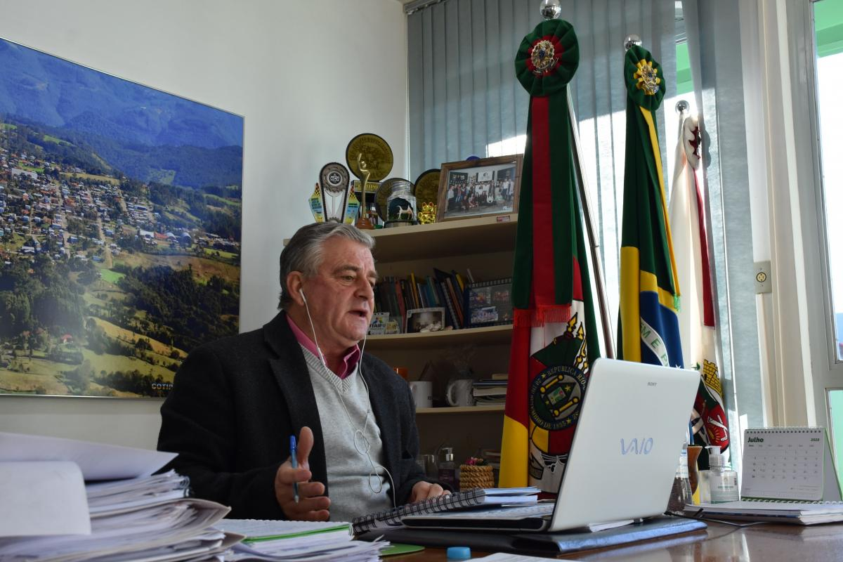 Presidente da Amesne e Prefeito de Cotiporã José Carlos Breda